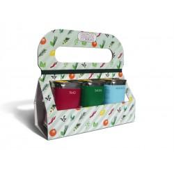 Gift Box Lattine olio extravergine di oliva speziate da 175 ml -6 varianti-